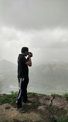 Photographer at work. Most pictures in this post are by him.