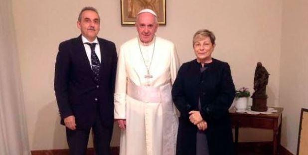 Guillermo Moreno y Bergoglio
