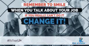 Smile Job Work Happiness Change