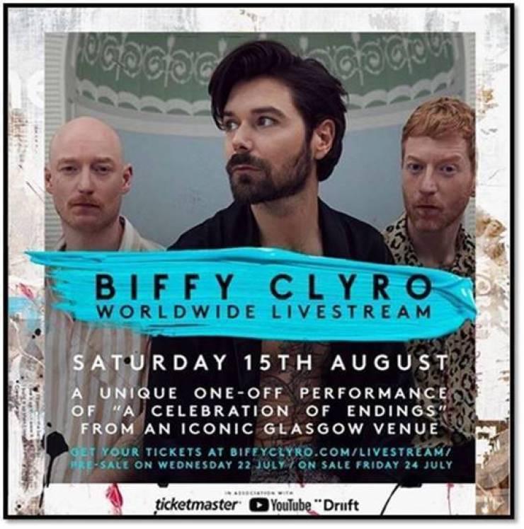 ¡Te regalamos boletos para ver a Biffy Clyro presentando su nuevo disco en línea!