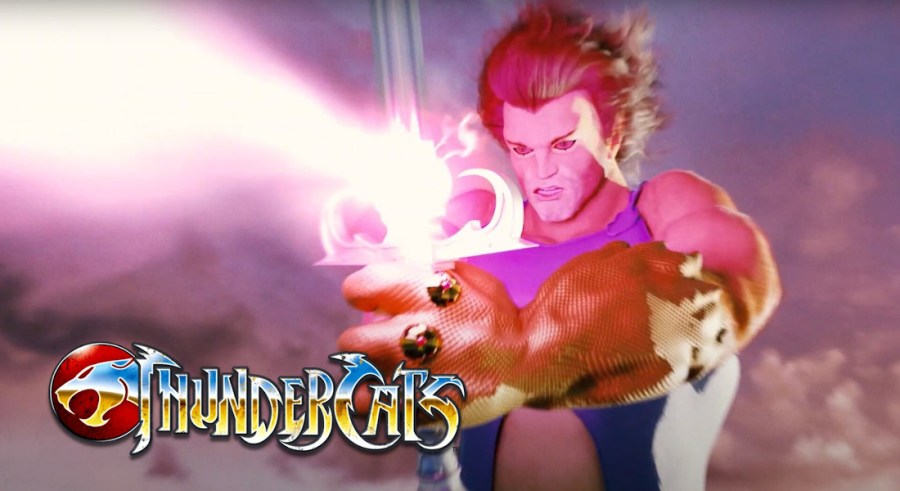 recreación cgi introducción thundercats