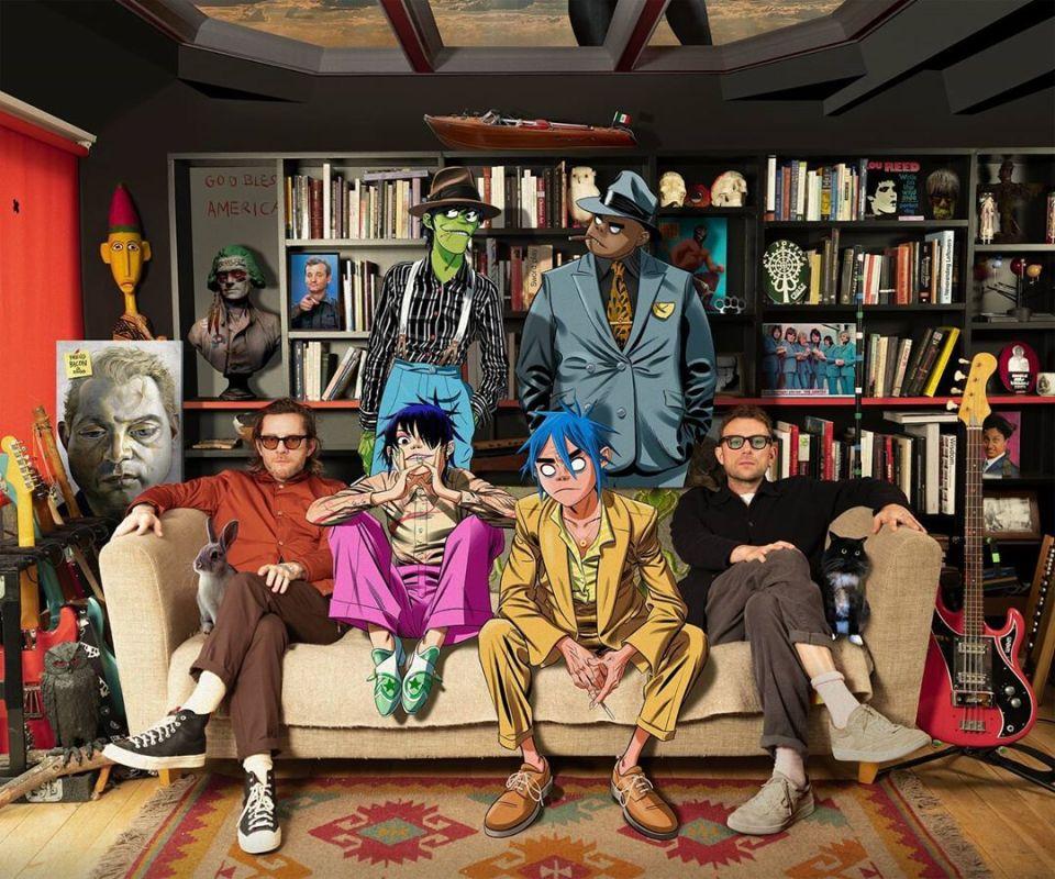 """Gorillaz estrena """"PAC-MAN"""", el quinto episodio de Song Machine con ScHoolboy Q"""