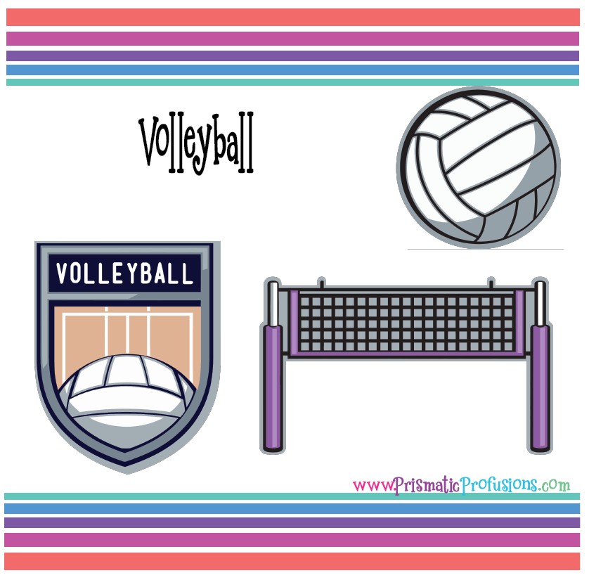 image about Volleyball Printable identified as Volleyball SVG, Volleyball Clipart, Volleyball Lower Report, Volleyball Printable, Volleyball