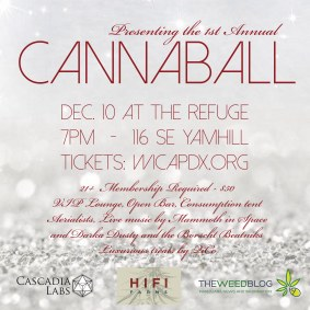 Flyer & Collateral for The Cannaball