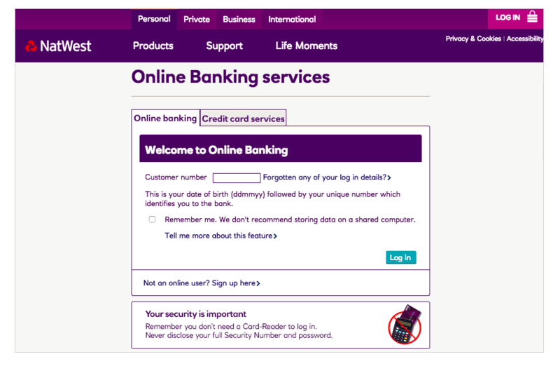 Natwest Personal Banking Telephone