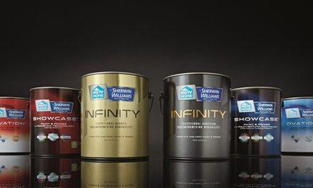 Sherwin-Williams adds premium 'INFINITY' Label to HGTV HOME line