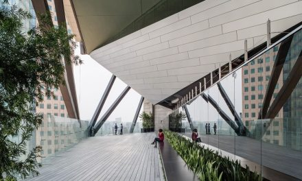 Engineered by Arup, Torre Reforma in Mexico City, is a locus of innovation