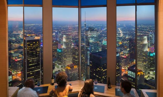 SageGlass installs dynamic glass in new Los Angeles restaurant atop iconic U.S. Bank Tower