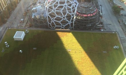 Columbia Green Technologies green roof system adorns Amazon's new tower in Seattle