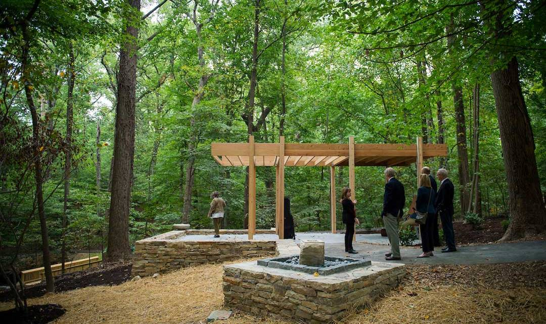 New healing green space for injured warriors will help fill research gap