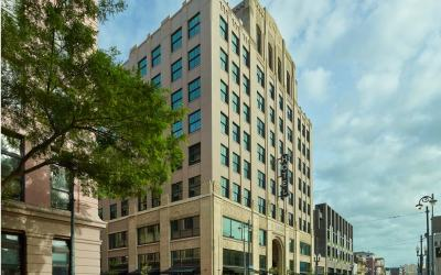 Ace Hotel New Orleans restores historic Art Deco exterior and updates performance