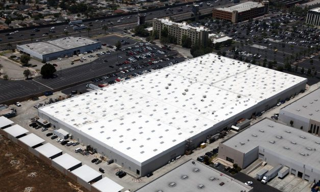 Highland Commercial Roofing reroofs 210,000 square foot commercial cosmetics manufacturing facility