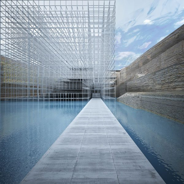 'Museum of Civilizations', 3D architectural rendering, 2014. Courtesy GM Architecture