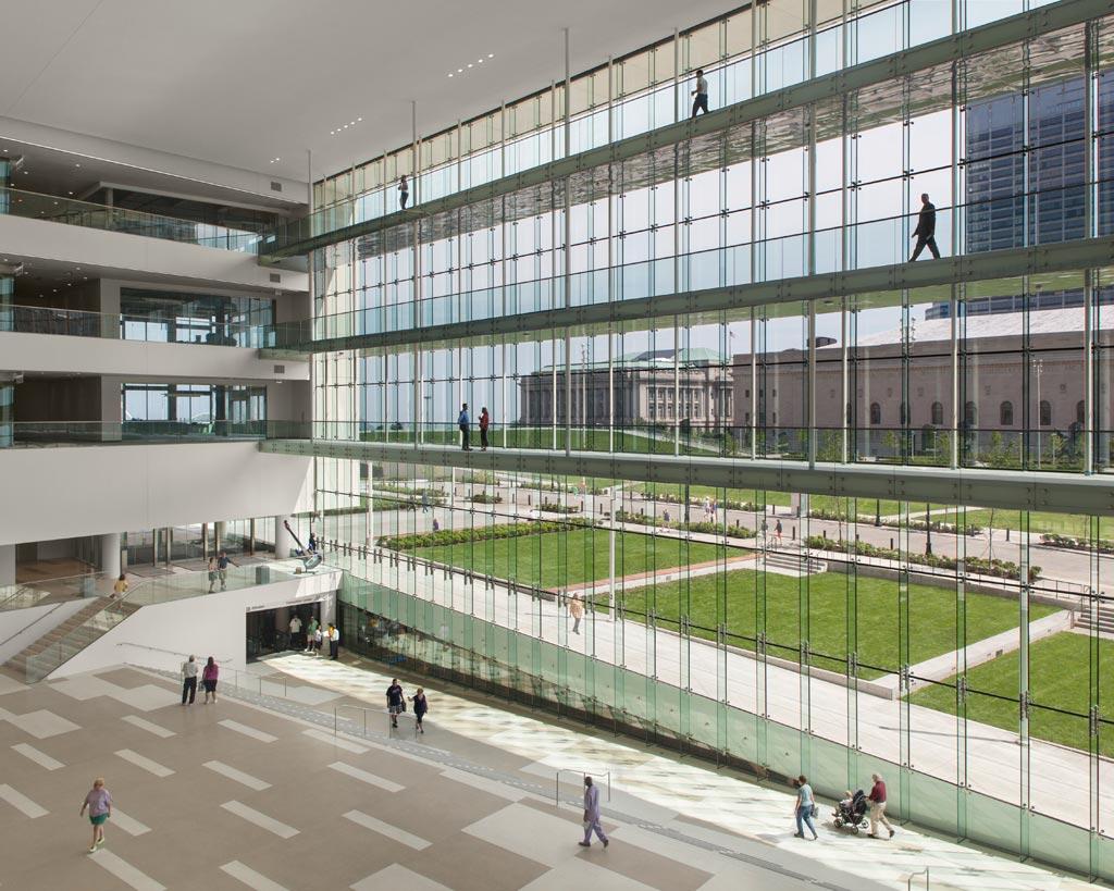 LMN Architects / Cleveland Civic Core. Photo: © James Maguire