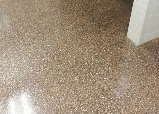 High-Traffic Protection and Beautiful Aesthetics with FloroMica from Florock® Polymer Flooring