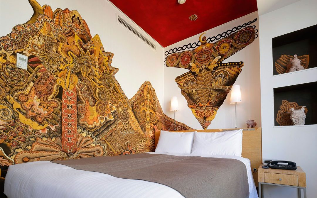 """New Artist Rooms """"Jomon"""" and """"Japanese Angel"""" completed at Park Hotel Tokyo"""