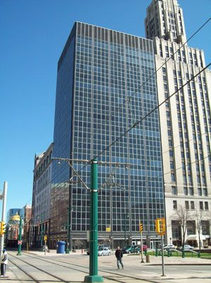 The Tishman Building before renovation