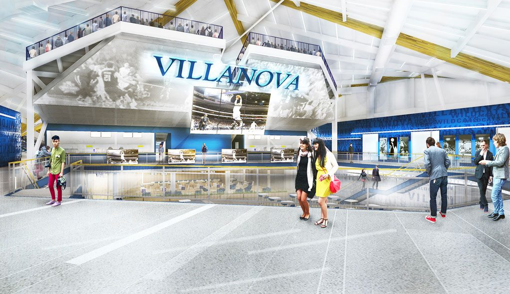 EwingCole designs renovations to The Pavilion at Villanova University