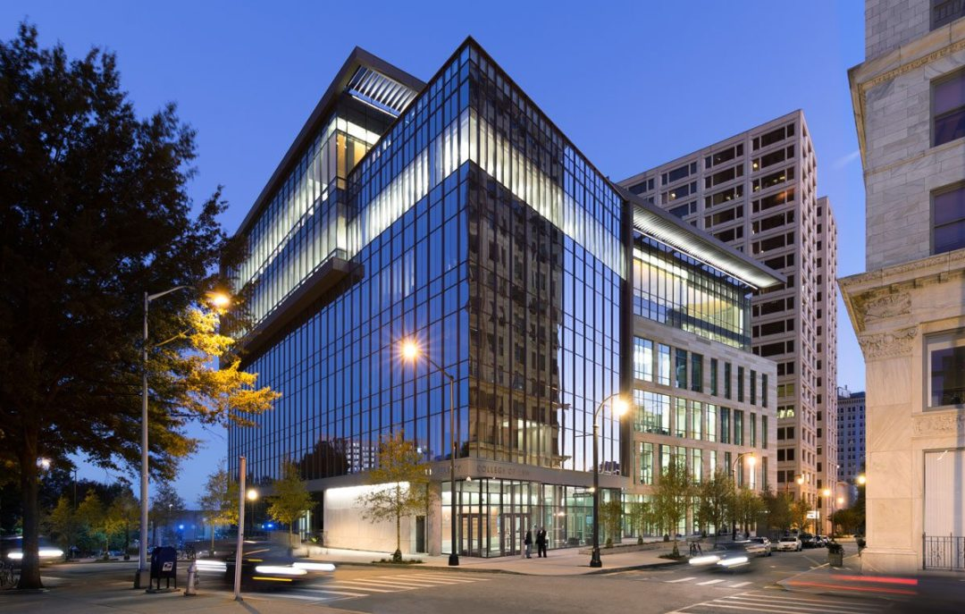 Georgia State University College of Law. Photo: Chuck Choi. Courtesy of YKK AP America Inc.