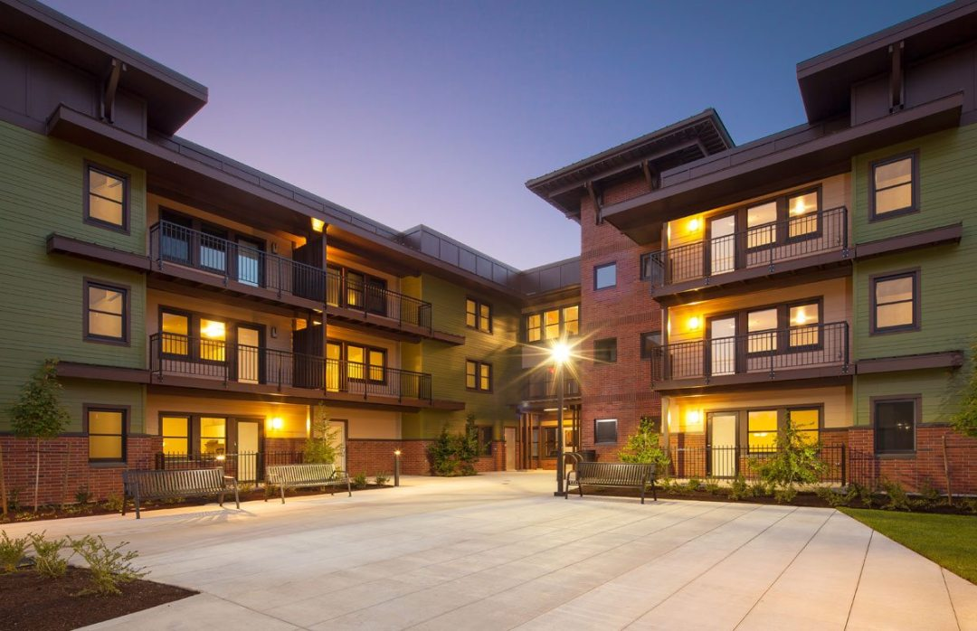 The Arroyo at Glen Mor Student Apartments - University of California, Riverside in Riverside, Calif. Photo: Millicent Harvey