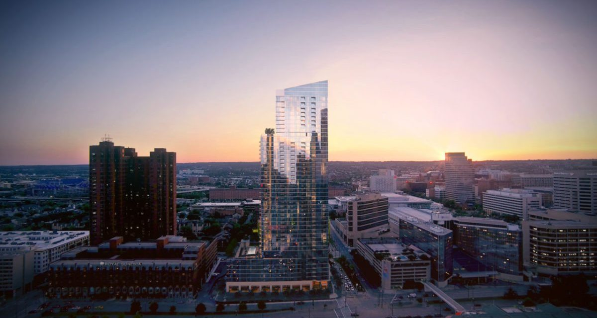 414 Light Street to stand as the tallest residential tower in Baltimore