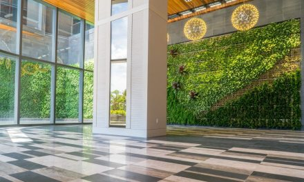 Anaha at Ward Village in Honolulu debuts Hawaii's largest living green wall
