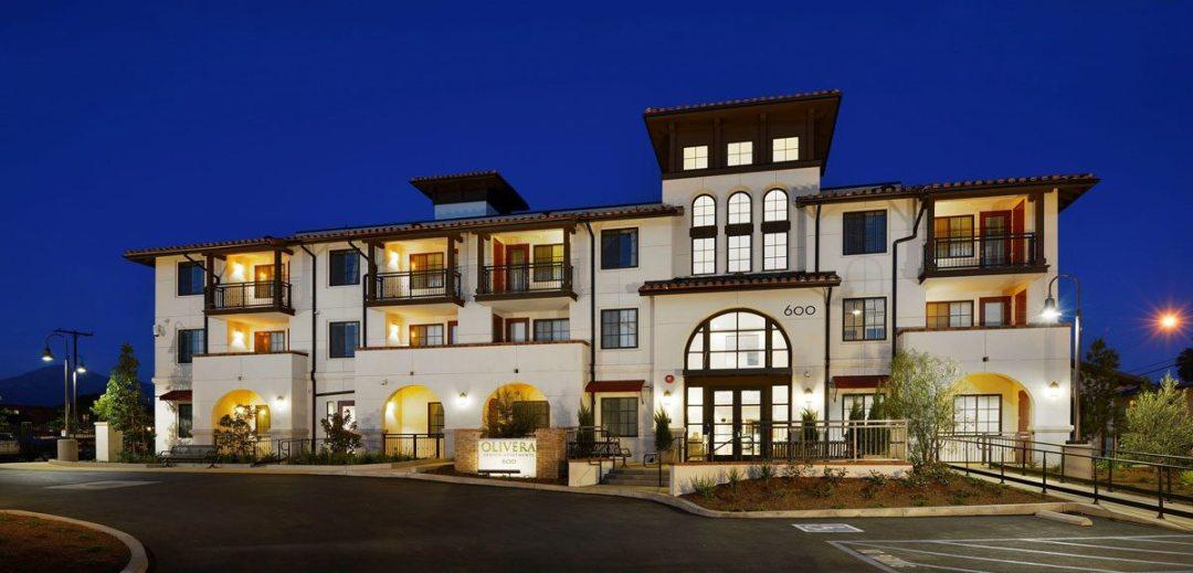 Olivera Senior Apartments, Pomona, Calif. Courtesy of Integrity Housing