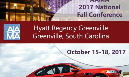 Early bird registration for AAMA Fall Conference available through Sept. 23