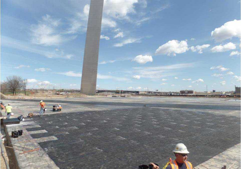 Western Specialty Contractors Completes Restoration/Waterproofing of Museum Roof Beneath St. Louis Historic Gateway Arch