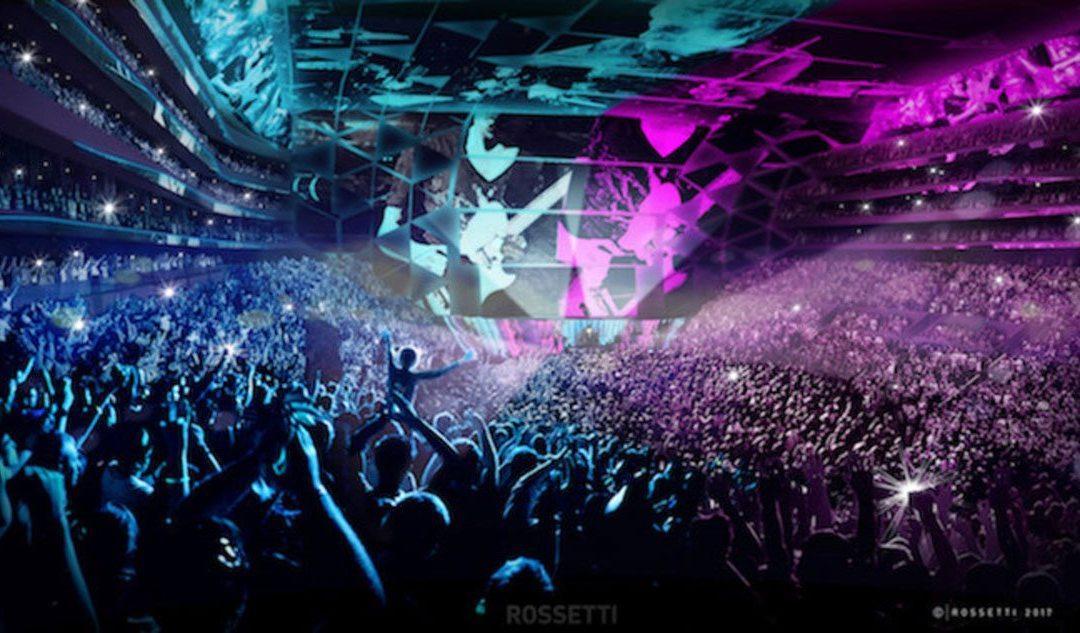 ROSSETTI designs revolutionary new arena: The Inverted Bowl