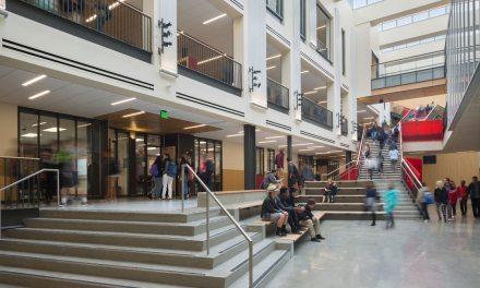 Washington's Sammamish High School features Rockfon ceiling systems