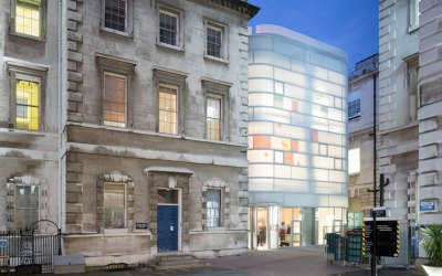 The Maggie's Centre Barts, designed by Steven Holl Architects, opens in London