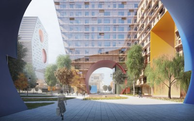 Steven Holl Architects wins international competition for new residential quarters in the Tushino District of Moscow