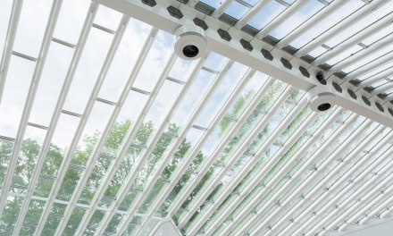 Restored Glass House Sculpture Gallery features Solarcool Gray tinted glass