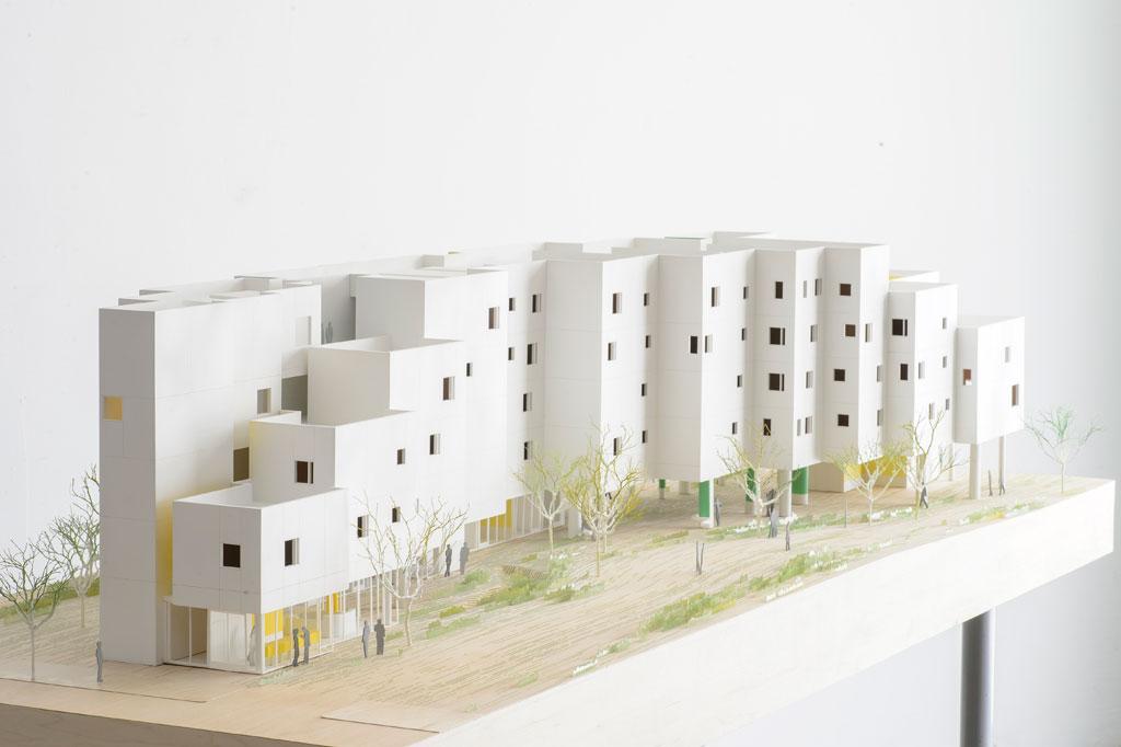 James Leng is a Los Angeles-based architect. CREST Apartments, Los Angeles. Credit: Michael Maltzan Architecture