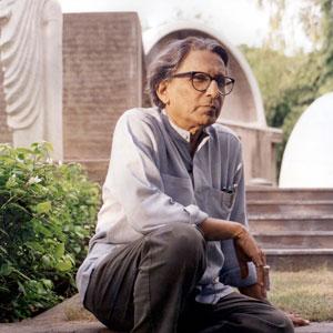 Balkrishna Doshi Photo courtesy of VSF. Courtesy of the Pritzker Architecture Prize