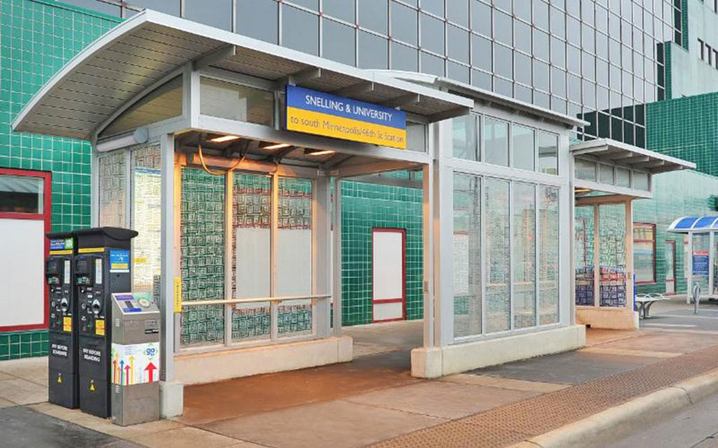 Minnesota's new Metro Transit shelters feature Linetec finishes