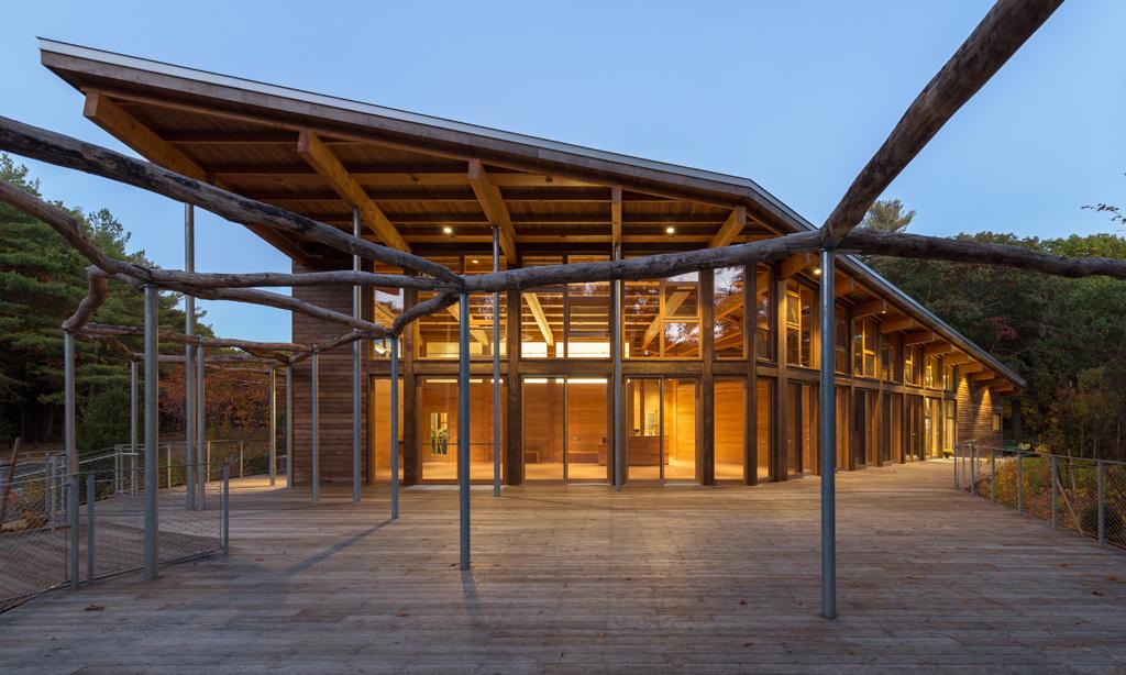 Walden Pond Visitor Center, Concord, MA. Photo: Chuck Choi