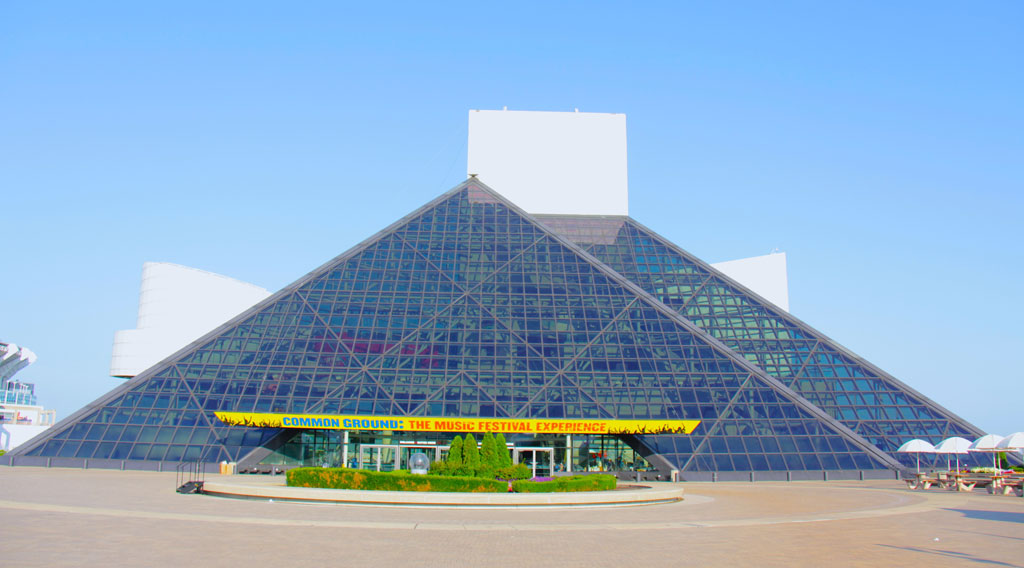 Rock & Roll Hall of Fame and Museum in Cleveland. Photo: 3M
