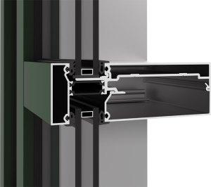 YCW 750 XT IG - Inside Glazed Curtain Wall System