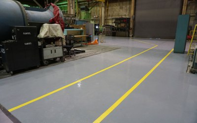 High Performance Systems Performs Floor Installation for Electrical Generation Facility in New Jersey