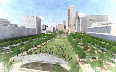 OJB Landscape Architecture unveils first glimpse of its 200-acre Missouri Riverfront master plan