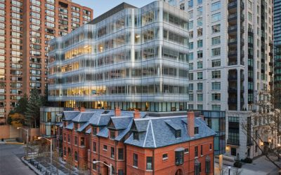 Guardian Glass helps 7 St. Thomas rise out of historic setting