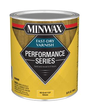 Minwax Performance Series Fast-Dry Varnish