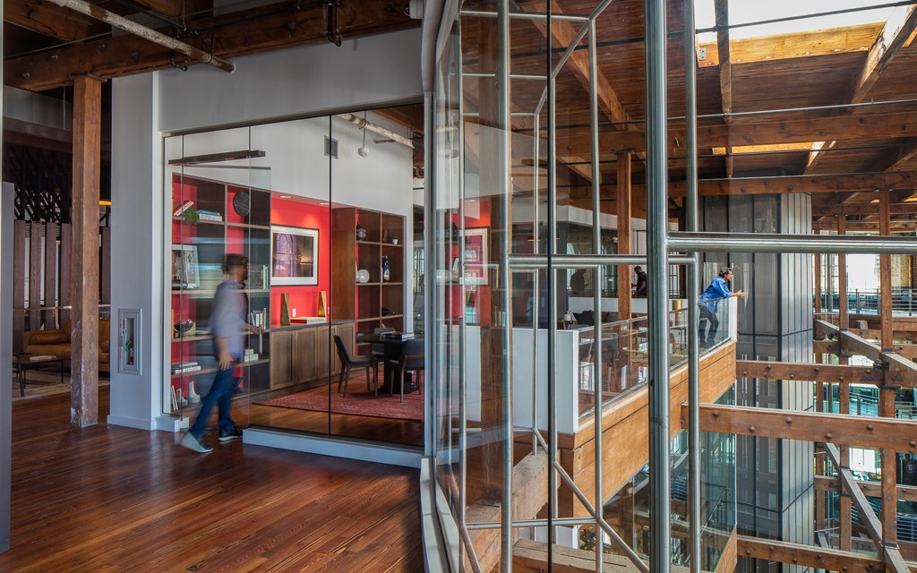 The Shop, a co-working space in New Orleans, facilitates connection with sustainable design