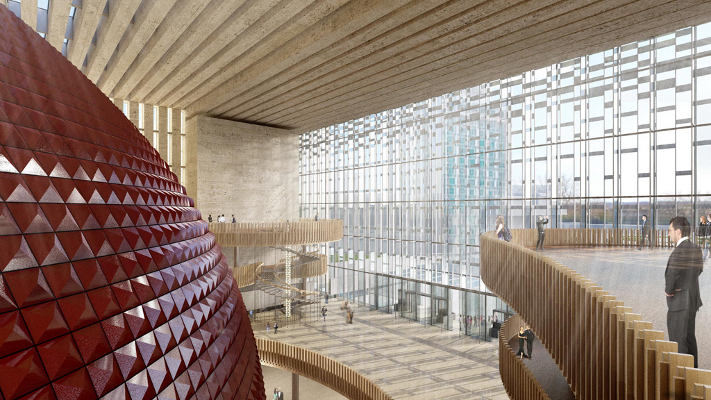 Ataturk Culture Center by Tabanlioglu Architects