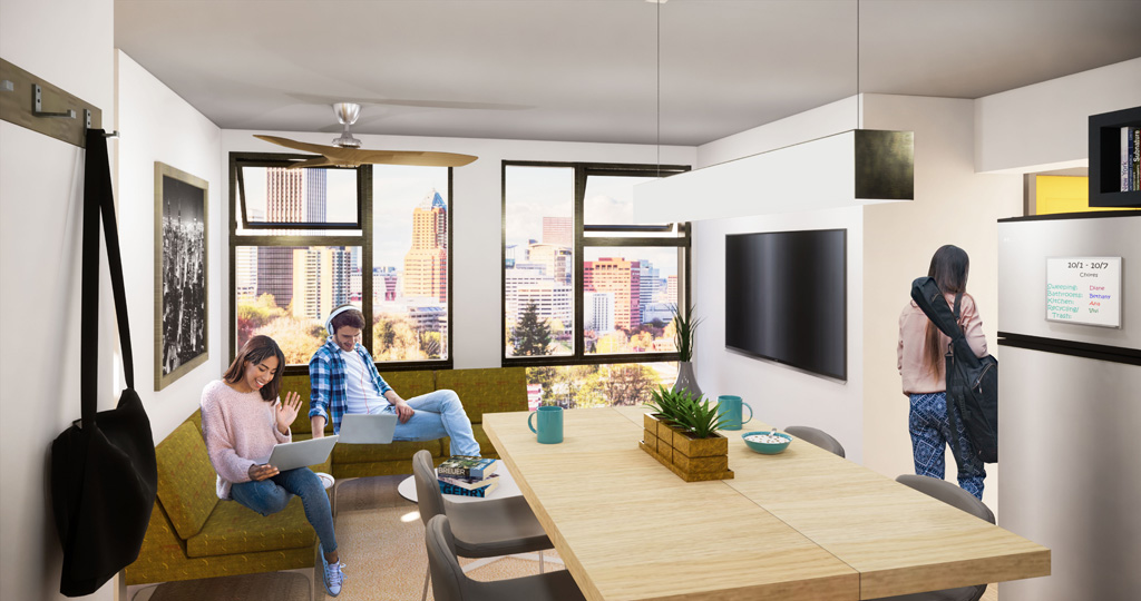 KTGY Introduces a Modular Housing Concept for Student Living