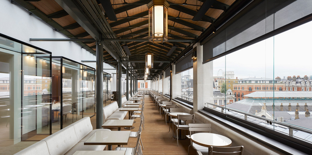 Level 5 Restaurant by Studio Linse. Photo: ©Hufton&Crow, courtesy of Stanton Williams