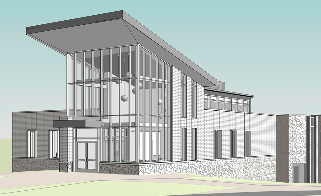 Construction is underway on a 7,000-square-foot Chemical Engineering Building at Pitt–Johnstown. The building is expected to be completed in time for occupancy in spring 2019. Photo: University of Pittsburgh