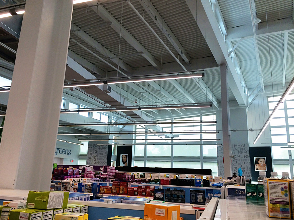 Use of 3M™ Daylight Redirecting Film at the Walgreens in Evanston, Illinois. Courtesy of 3M
